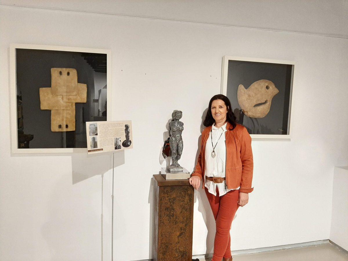 Exposición escultura Encarnación Rudilla