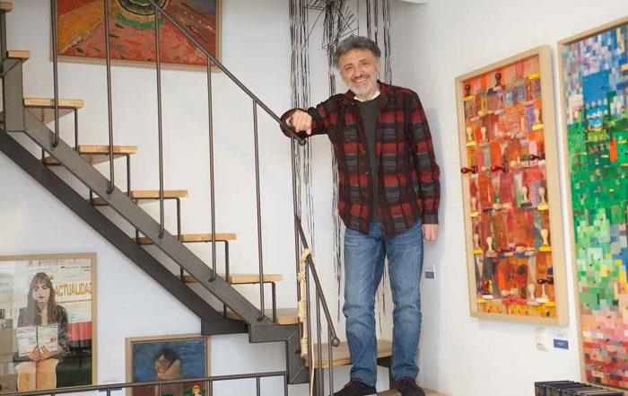 Entrevista a Pepe Cañete en la librería Cañete